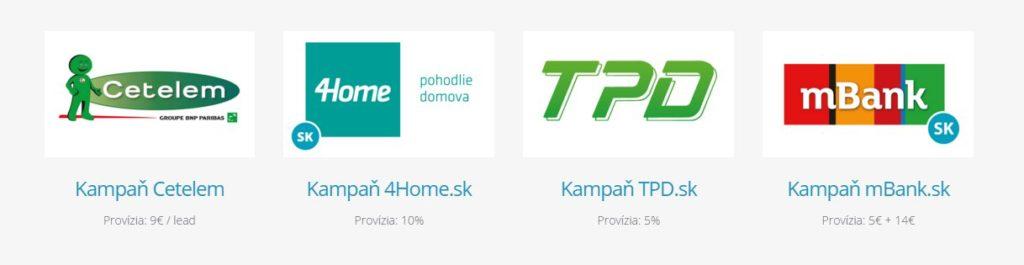 Kampane v affiliate sieti Dognet