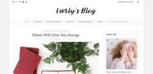 Everly Lite WordPress šablóna zadarmo