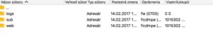 Súbory na FTP