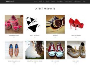 Shop Isle WordPress šablóna zadarmo