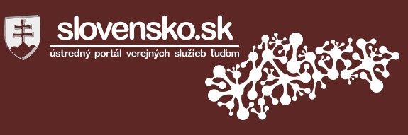 Slovensko.sk - oficiálna stránka slovenských verejných služieb