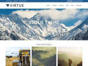 Virtue WordPress šablóna zadarmo