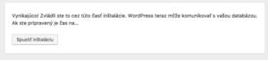 Inštalácia WordPressu - krok 2