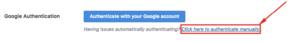 Manuálna aktivácia Google Analytics