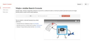 Vitajte v Search Console